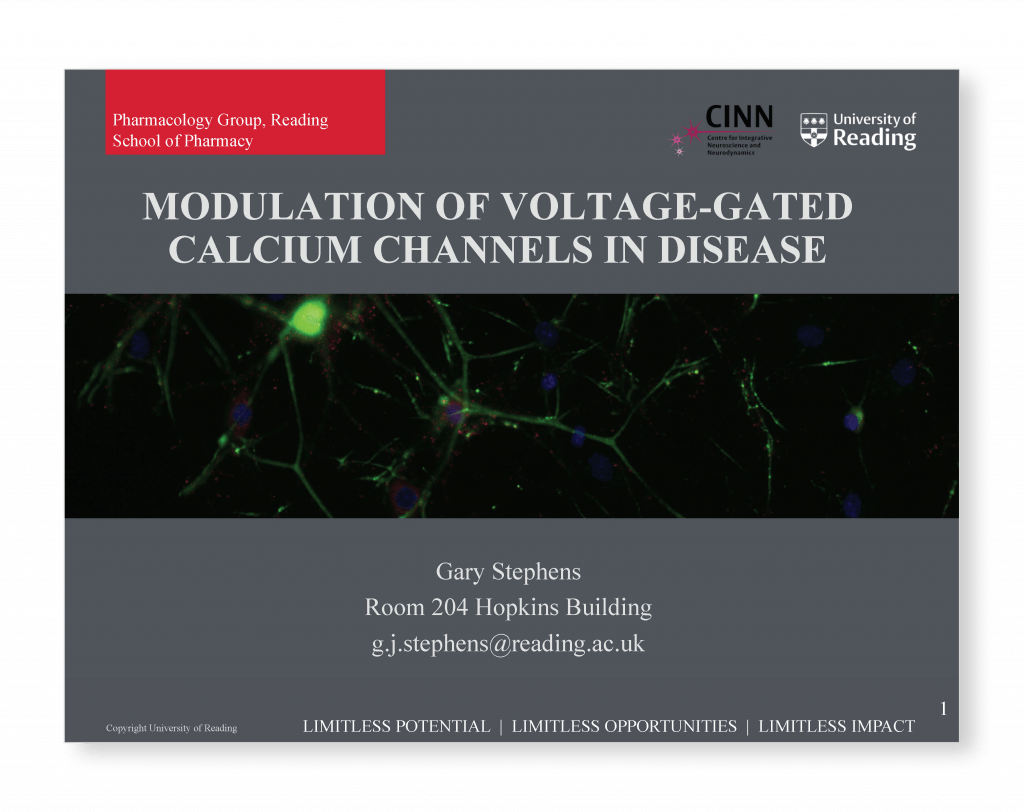 Modulation of voltage gated calcium channels in disease