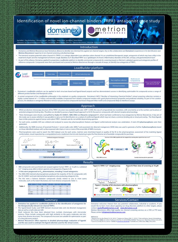 Metrion Biosciences Integrated Drug Discovery Brochure 2 copy