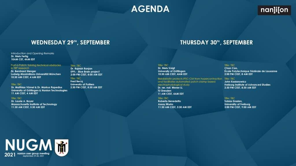 212909 Nanion 2021 User Meeting Event Agenda banner 1920x1080